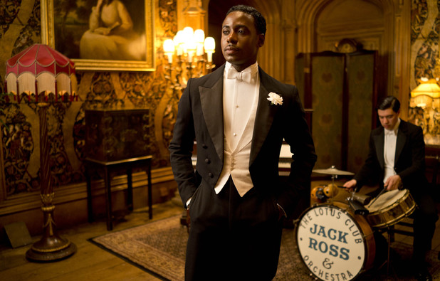Gary Carr as Jack Ross in 'Downton Abbey' Season 4 Episode 6