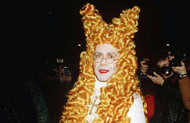 ELTON JOHN'S FANCY DRESS PARTY - 1994 ELTON JOHN 1994