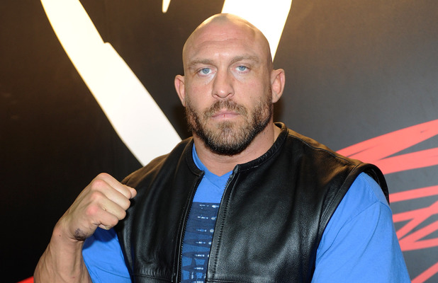 Ryback at the World Wrestling Entertainment booth at Licensing Expo 2013