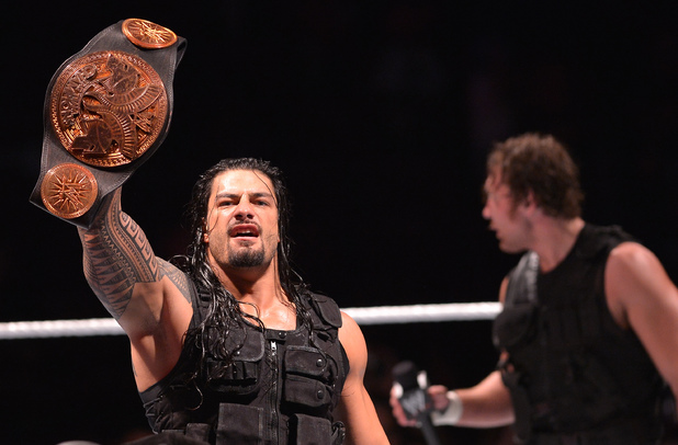 Roman Reigns of The Sheild at WWE Live at BB&T Center