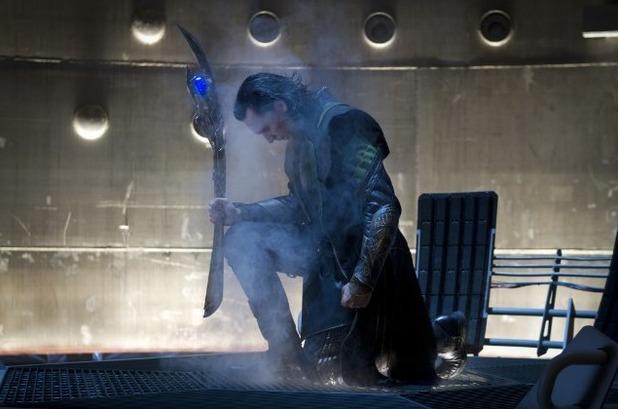 Tom Hiddleston as Loki in 'Avengers Assemble'