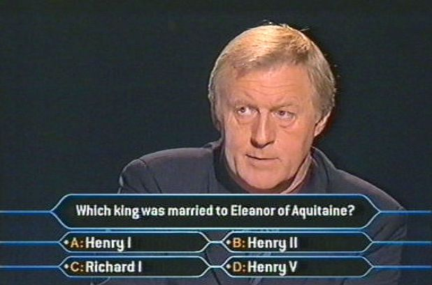 Chris Tarrant on Who Wants To Be A Millionaire