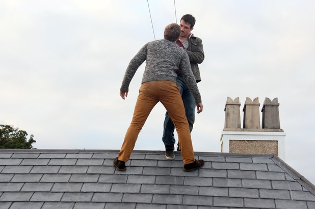 Dodger and Will have a rooftop showdown