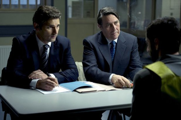 Ciarán Hinds & Eric Bana in 'Closed Circuit'