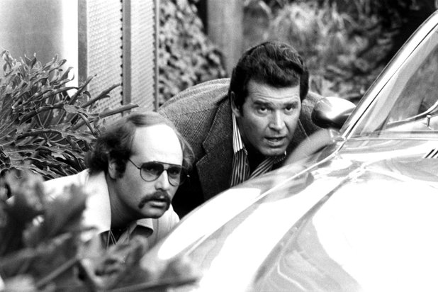 Rob Reiner and James Garner in 'The Rockford Files': Season 2 'No Cut Contract'