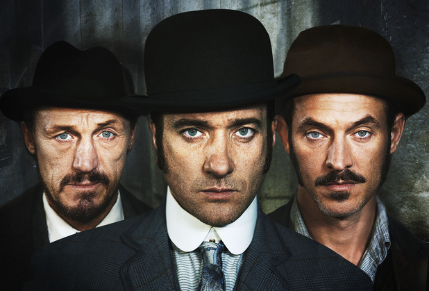 'Ripper Street' series two cast.