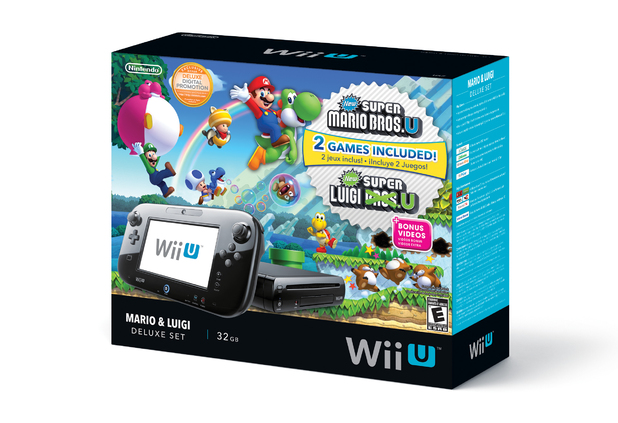 Super Mario Bros Wii U bundle