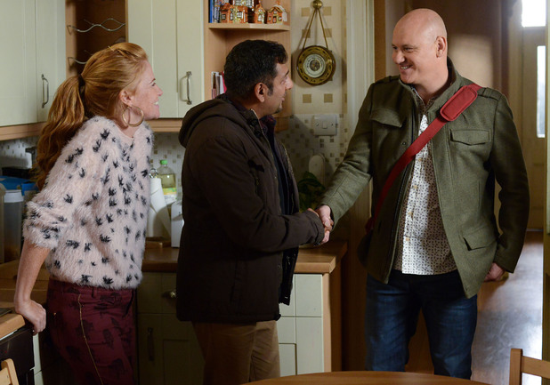 Bianca introduces Terry to Masood.