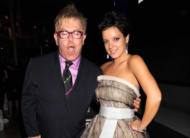 GQ Men of the Year Awards, Royal Opera House, London, Britain - 02 Sep 2008Elton John and Lily Allen 2 Sep 2008