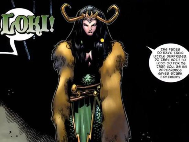 Lady Loki comic