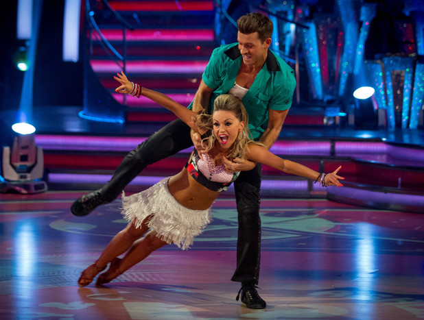 Ashley and Ola dance the Jive
