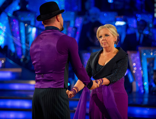 Deborah and Robin share their final dance