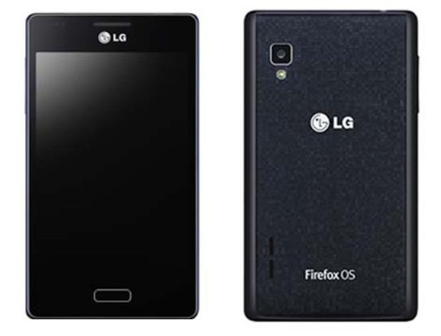 LG's Fireweb Firefox OS smartphone