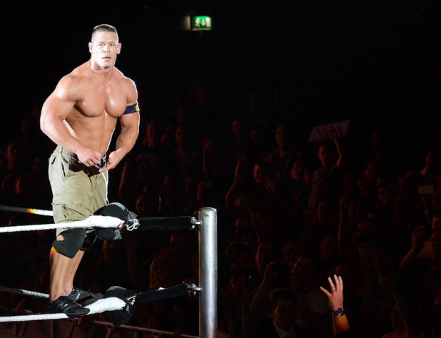 John Cena at the WWE Revenge Tour at The O2