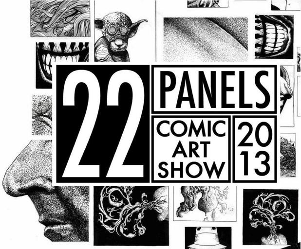 22 Panels Comic Art Show