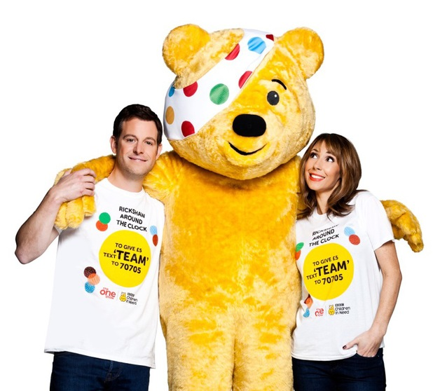 Matt Baker, Alex Jones for Children in Need