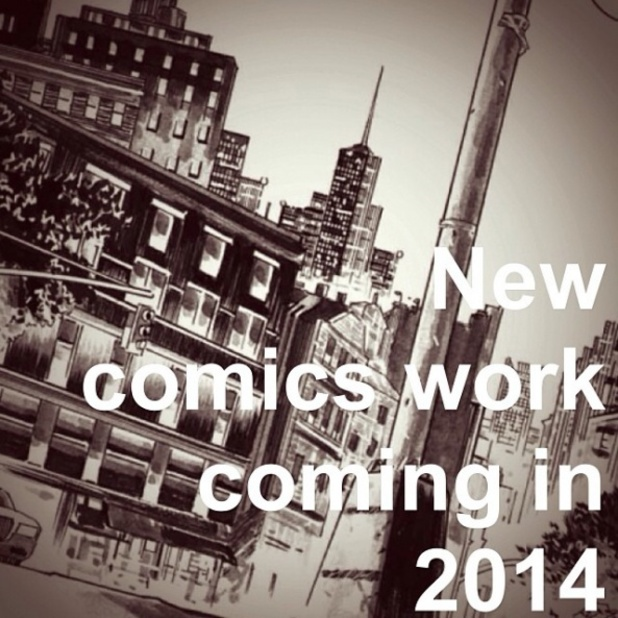 Warren Ellis comics 2014 teaser