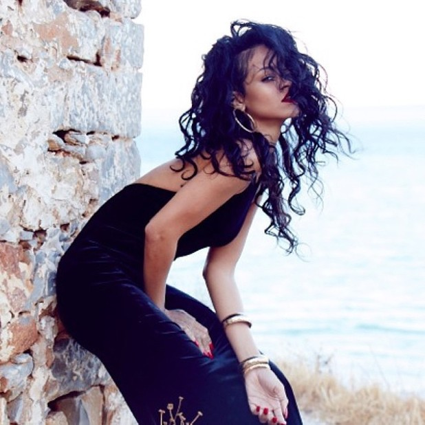 Rihanna previews new River Island collection