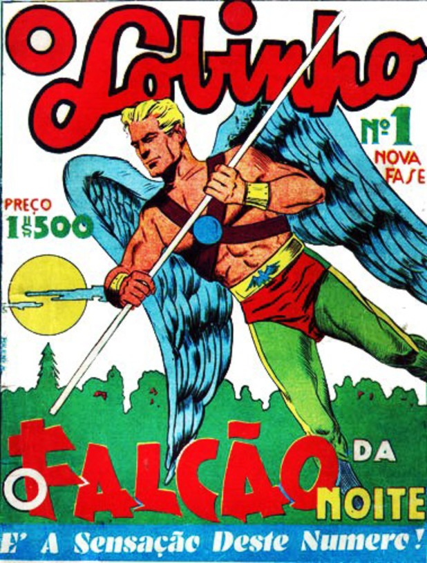 'O Lobinho' comic cover