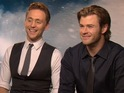 Tom Hiddleston and Chris Hemsworth discuss Thor and Loki's deepening relationship.