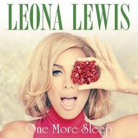 Leona Lewis 'One More Sleep' single artwork.