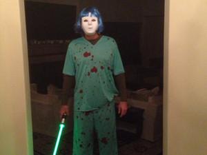 Charlie Sheen's Halloween costume