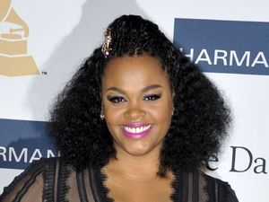 Jill Scott at the Clive Davis and Recording Academy Pre-Grammy Gala