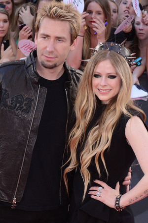 2013 MuchMusic Video Awards at MuchMusic HQ - Arrivals Chad Kroeger, Avril Lavigne