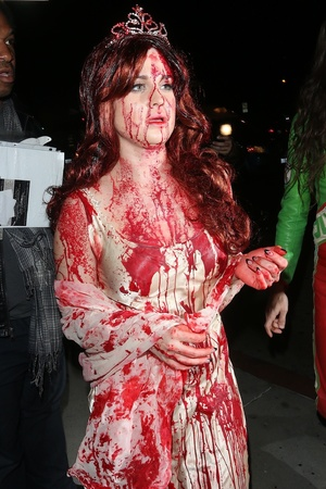 Celebrities attend Bootsy Bellows' Halloween party in West Hollywood Kelly Osbourne