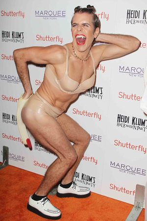 Perez Hilton 14th annual Halloween party on Thursday, Oct. 31, 2013, in New York