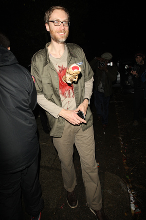 Stephen Merchant Jonathan Ross Halloween party 2013