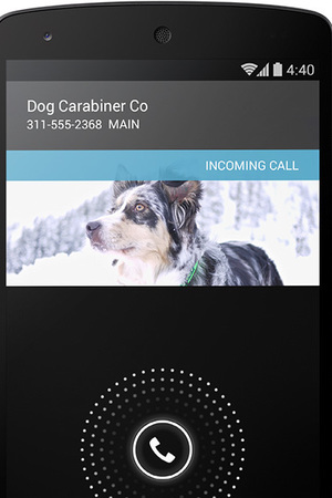 Android 4.4 KitKat Caller ID screenshot