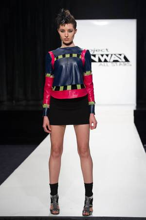 Elena Slivnyak's final design for the season premiere if 'Project Runway: All Stars'