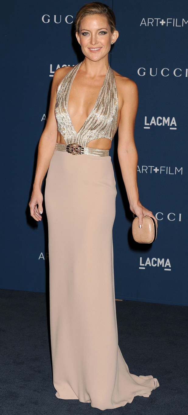 Kate Hudson attends the LACMA: Art and Film Gala, Los Angeles, America - 02 Nov 2013