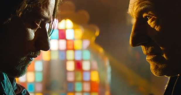 James McAvoy and Patrick Stewart in 'X-Men: Days of Future Past'