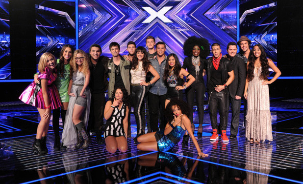 The Top 12 finalists are revealed on The X Factor USA first live show