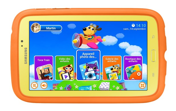 Samsung's Galaxy Tab 3 Kids