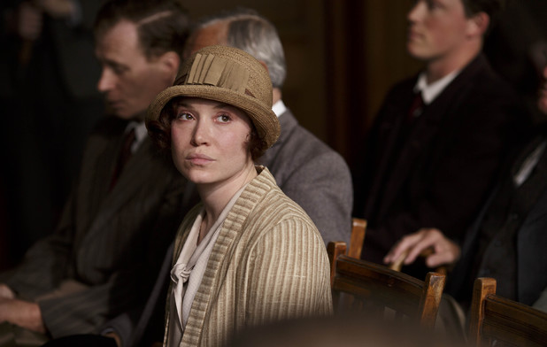 Daisy Lewis as Sarah Bunting in Downton Abbey series 4 episode 7