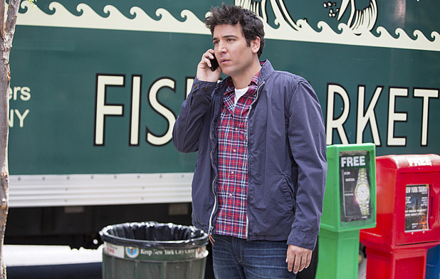 Josh Radnor as Ted in How I Met Your Mother: 'No Questions Asked'