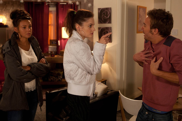Tina finds David's troubles hard to deal with.
