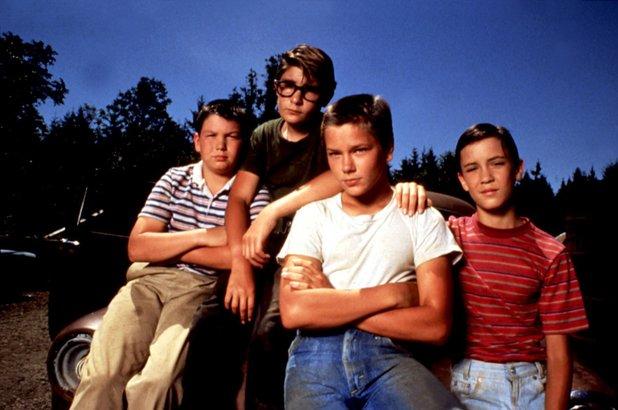 Jerry O'Connell, Corey Feldman, River Phoenix, Wil Wheaton in 'Stand By Me'