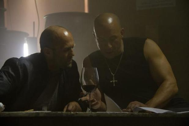 Vin Diesel and Jason Statham in new 'Fast & Furious 7' picture