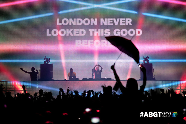 Above & Beyond at Group Therapy 50, Alexandra Palace