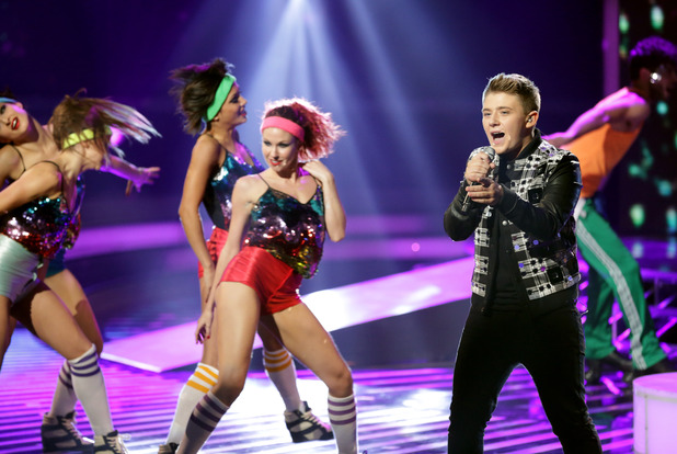 Nicholas McDonald on 'The X Factor' Disco Week