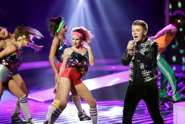 Nicholas McDonald on 'The X Factor' Disco Week