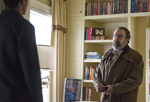 Mandy Patinkin as Saul Berenson in Homeland Season 3 Episode 5: 'The Yoga Play'