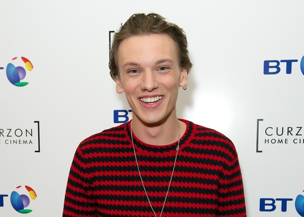 Jamie Campbell Bower is promoting BT TV and the launch of the new Curzon Home Cinema Channel'