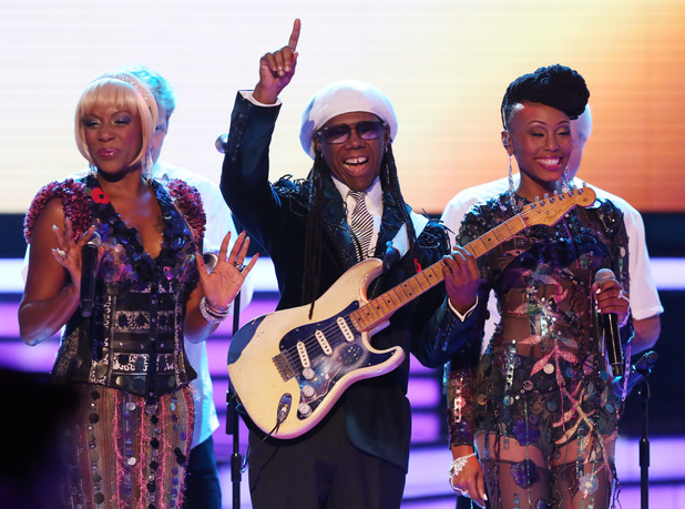 Nile Rodgers and Chic on 'The X Factor' Disco Week