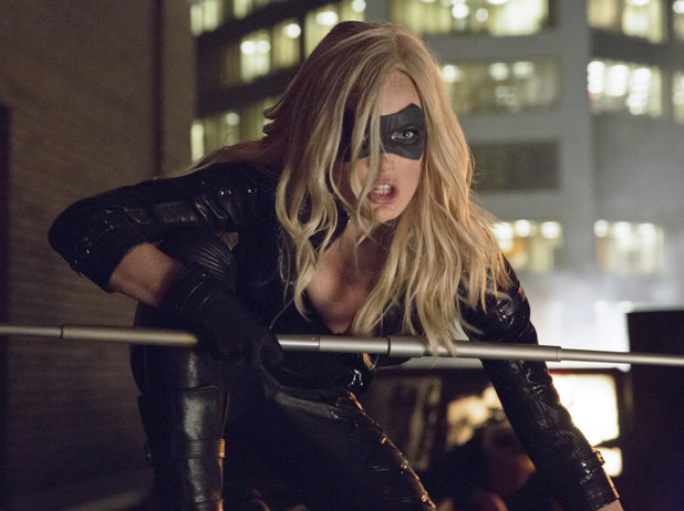 Caity Lotz as Canary in 'Arrow' S02E04: 'Crucible'