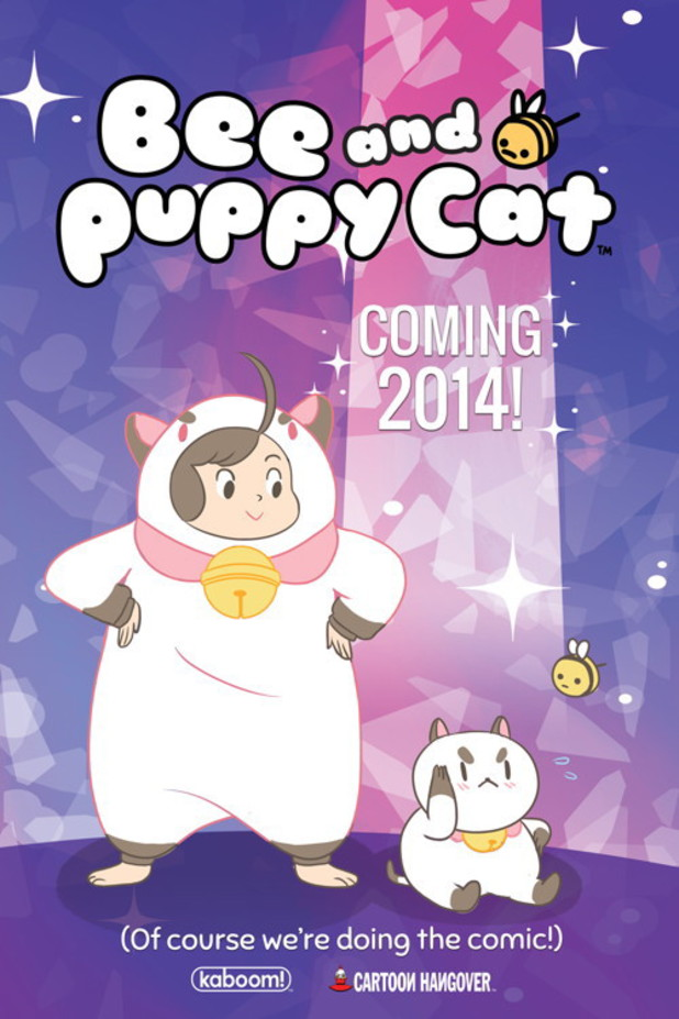 BOOM! Studios' 'Bee and Puppycat' teaser